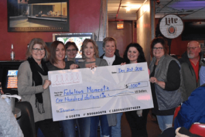 Dell Rapids Pink Ladies donation
